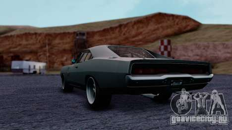 Dodge Charger RT 1970 FnF7 для GTA San Andreas вид слева