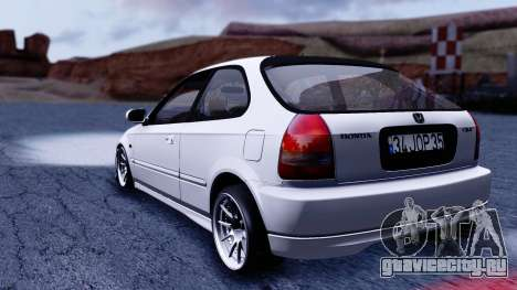 Honda Civic 1.6 Hatchback для GTA San Andreas вид слева