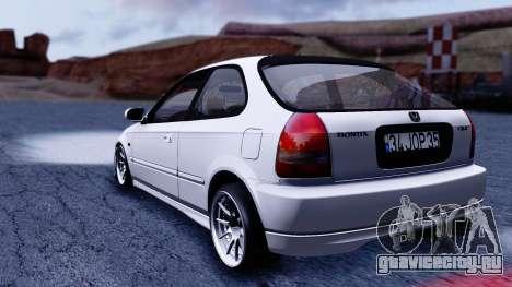 Honda Civic 1.6 Hatchback для GTA San Andreas вид слева