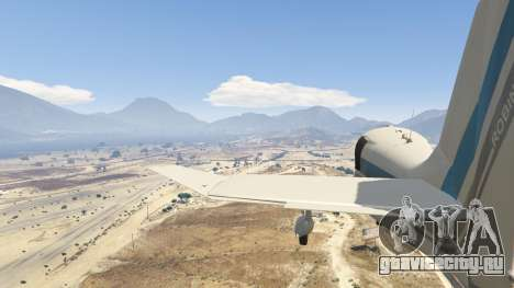 Robin DR-400 для GTA 5 седьмой скриншот