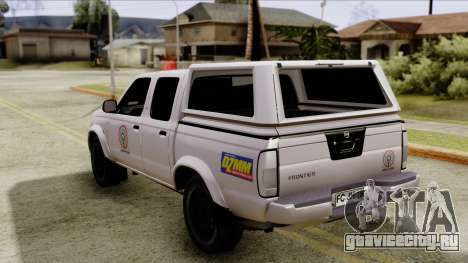 Nissan Frontier ABS CBN для GTA San Andreas вид слева