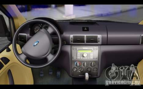Ford Connect Rizeli для GTA San Andreas вид справа