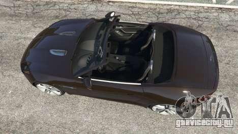 Jaguar F-Type 2014 для GTA 5 вид сзади