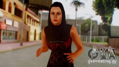 WWE Aksana для GTA San Andreas
