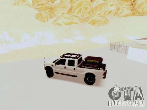 Ford F-250 Full Off-Road для GTA San Andreas вид слева