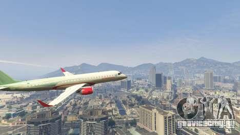 Embraer 195 Wind для GTA 5 шестой скриншот
