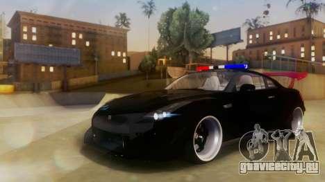 Nissan GT-R Police Rocket Bunny для GTA San Andreas