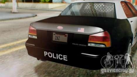 GTA 5 Police LV для GTA San Andreas вид справа