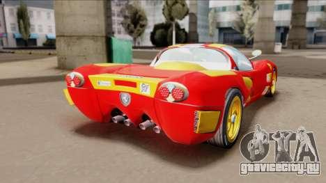 Ferrari P7-2 Iron Man для GTA San Andreas вид слева