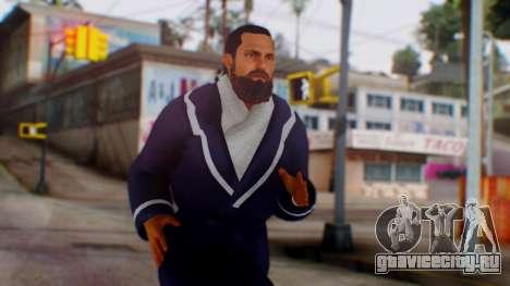 WWE Damien Sandow 1 для GTA San Andreas