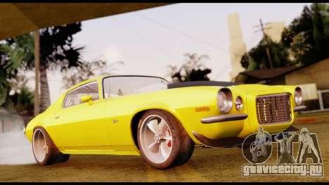 Chevrolet Camaro Z28 Special Edition для GTA San Andreas
