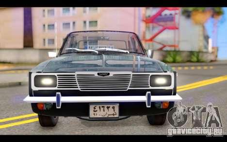 Peykan 1347 Classic для GTA San Andreas вид сзади