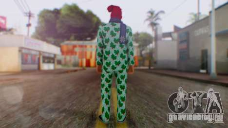 GTA Online Festive Surprise Skin 4 для GTA San Andreas третий скриншот
