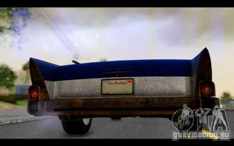 Declasse Tornado Mexico для GTA San Andreas вид сзади