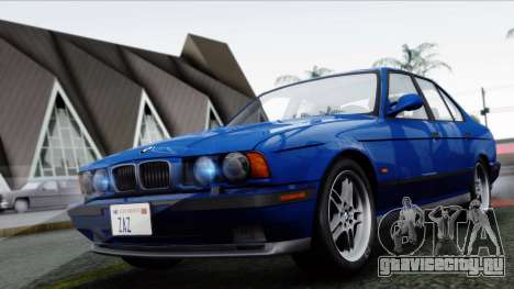 BMW M5 E34 US-spec 1994 (Full Tunable) для GTA San Andreas вид слева