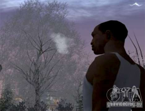 Пар из рта для GTA San Andreas
