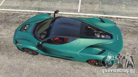 Ferrari LaFerrari 2015 v1.2 для GTA 5 вид сзади