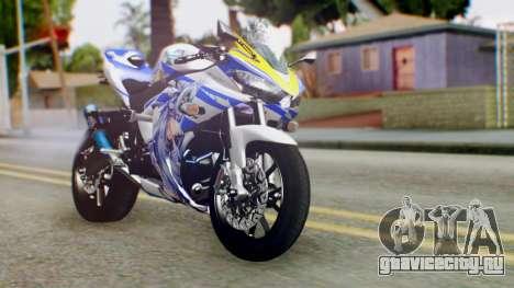 Yamaha YZF R-25 Kos-Mos Xenosaga Itasha 2014 для GTA San Andreas