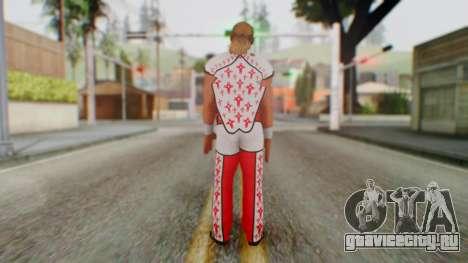 WWE HBK 2 для GTA San Andreas третий скриншот