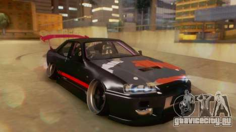 Nissan Skyline GT-R R34 Hella для GTA San Andreas
