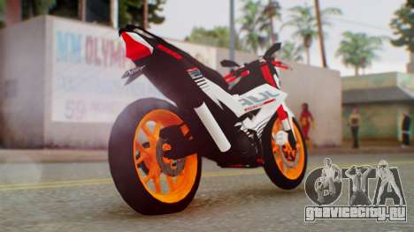 Honda Sonic 150R KingLivery для GTA San Andreas вид слева
