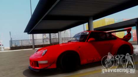 Porsche 993 GT2 RWB Rough Rhythm для GTA San Andreas