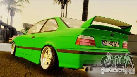 BMW M3 E36 [34RS671] для GTA San Andreas вид слева