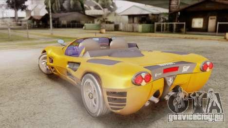 Ferrari P7 Cabrio для GTA San Andreas вид слева
