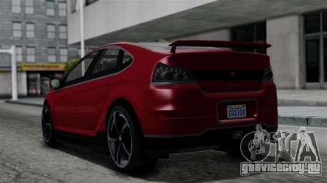 GTA 5 Cheval Surge IVF для GTA San Andreas вид слева