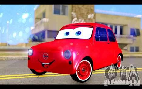 Zastava 750 - The Cars Movie для GTA San Andreas