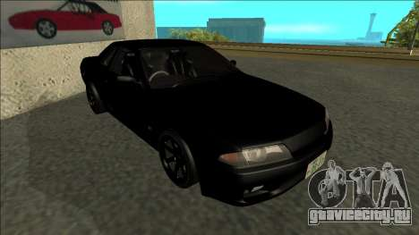 Nissan Skyline R32 Drift для GTA San Andreas вид слева