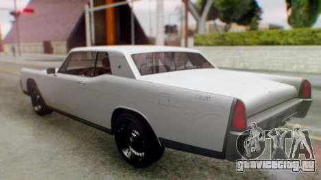 GTA 5 Vapid Chino Tunable для GTA San Andreas