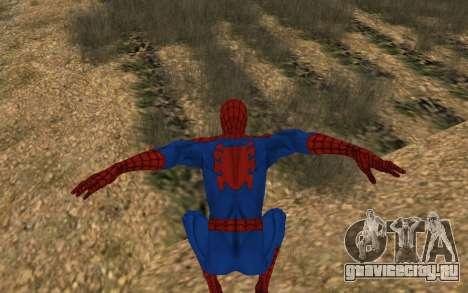 Удивительный человек-паук комикс-версия для GTA San Andreas пятый скриншот