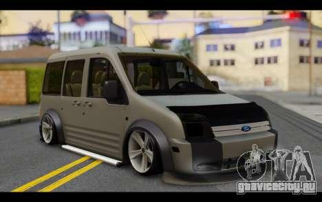 Ford Connect Rizeli для GTA San Andreas