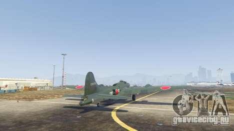 Boeing B-17 Flying Fortress для GTA 5 третий скриншот