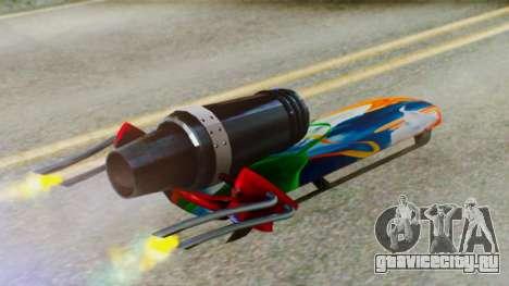 Flying Hovercraft New Skin для GTA San Andreas вид справа