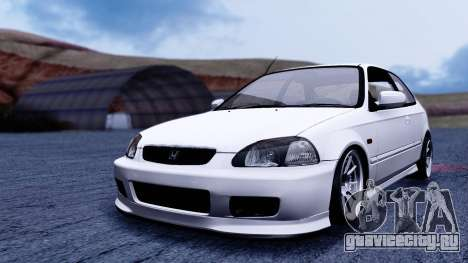 Honda Civic 1.6 Hatchback для GTA San Andreas вид справа