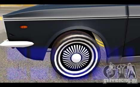 Peykan 1347 Classic для GTA San Andreas вид справа