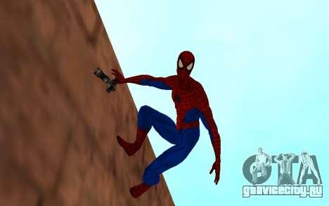 Удивительный человек-паук комикс-версия для GTA San Andreas второй скриншот