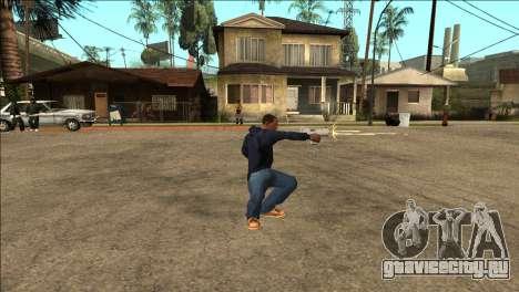 Дополнительная анимация TEC-9 для GTA San Andreas