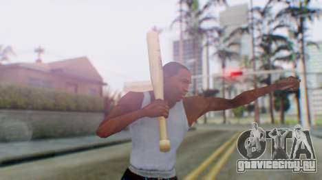 Vice City Baseball Bat для GTA San Andreas третий скриншот