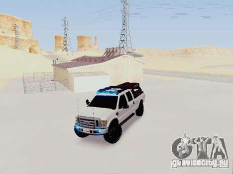 Ford F-250 Full Off-Road для GTA San Andreas вид справа
