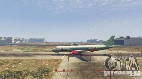 Embraer 195 Wind для GTA 5 второй скриншот