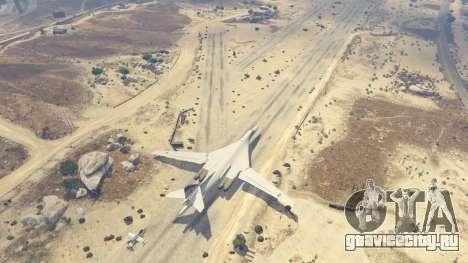 Tu-160 White Swan для GTA 5 пятый скриншот