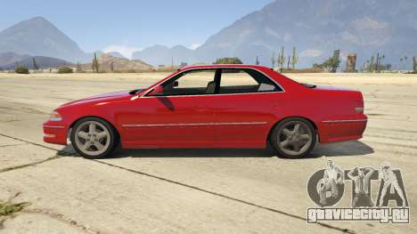Toyota Mark II JZX100 Tunable для GTA 5 вид слева