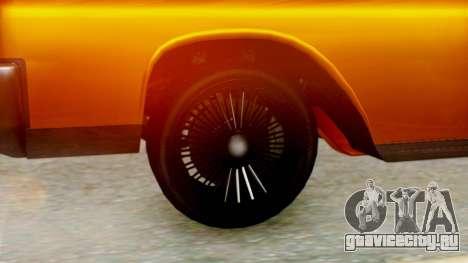GTA 5 Vapid Chino Tunable для GTA San Andreas вид сзади слева