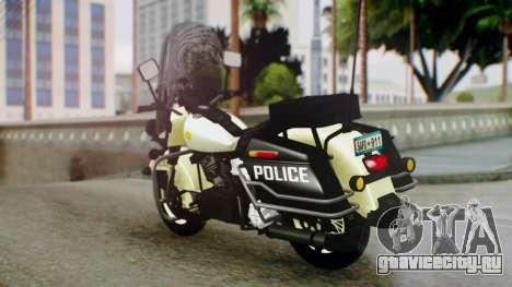 New Police Bike для GTA San Andreas вид слева