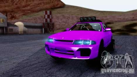 Nissan Skyline R33 Rusty Rebel для GTA San Andreas