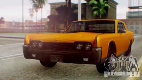 GTA 5 Vapid Chino Tunable для GTA San Andreas