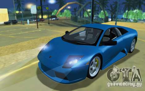 Lamborghini Murcielago 2005 для GTA San Andreas вид слева